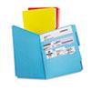 Divide It Up File Folder, Multi Section, 1/2 Cut Tab, Letter, Assorted, 12/pack