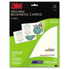 3M Inkjet Textured Business Cards - D419I