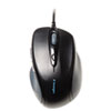 Pro Fit Wired Full-Size Mouse, USB, Right, Black