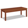 Laminate Occasional Table, Rectangular, 48w x 20d x 16h, Henna Cherry
