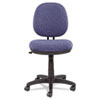 Alera Interval Swivel/tilt Task Chair, Tone-On-Tone Fabric, Marine Blue