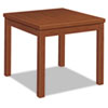 Laminate Occasional Table, Square, 24w x 24d x 20h, Henna Cherry