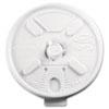 Lift N' Lock Plastic Hot Cup Lids, Fits 10oz Cups, White, 1000/Carton 10FTL