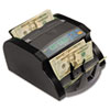 Electric Bill Counter, 1000/Bills/Min, 10 5/8 x 9 7/16 x 6 1/10, Gray/Black