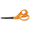 "Our Finest Scissors, 8"" Length, 3-1/10"" Cut, Orange"