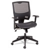 Alera Epoch Series All Mesh Multifunction Mid-Back Chair, Black