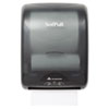 "Dispenser, 12 3/5"" x 9 3/10"" x 16 7/10"", Smoke Black"