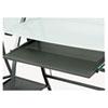 Xpressions Keyboard Tray, Steel, 23-1/2w X 15-1/4d, Black