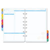 Flavia® two-page-per-day dated planning pages.