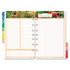 Garden path design two-page-per-day organizer refill.