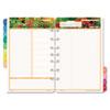 Garden path design two-page-per-day organizer refill.