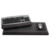 Extended Keyboard Wrist Rest, Memory Foam, Non-Skid Base, 27 x 11 x 1, Black