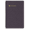 Recycled Weekly Appointment Book, Black, 4 7/8