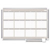 Picture of 12 Month Year Planner 36x24 Aluminum Frame