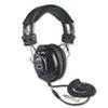 Picture of Deluxe Stereo Headphones wMono Volume Control Black