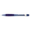 Quicker Clicker Mechanical Pencil, 0.7 mm, Transparent Blue Barrel