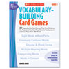 Vocabulary Building Card Games, Grade Two, 80 pages