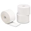 "Single-Ply Thermal Paper Rolls, 1 3/4"" X 230 Ft, White, 10/pack"