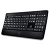 Logitech® K800 Wireless Illuminated Keyboard