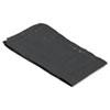 Sanitary Napkin Receptacle Liner Bag, Plastic, Black, 1000/carton