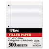 Picture of Filler Paper 3H 16 lb 8 12 x 11 College Rule White 500 SheetsPack