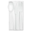 Compostable cutlery.
