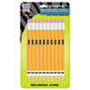 #2 Mechanical Pencil, 0.7 mm, Yellow, 10/Pack