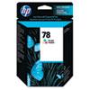 HP NO 78 STD TRI-COLOR INK CART DJ DESKJET 930C 950C 970C P1000 P1100