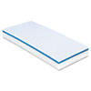 "Doodlebug Easy Erasing Pad, 4"" x 10"", White/Blue, 20/Carton"