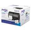 Tissue Dispenser and Angel Soft ps Tissue Start Kit, 4750 Sheets, 4 Rolls/Carton