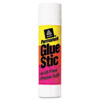 Permanent Glue Stics, White Application, 0.26 Oz, Stick