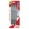 Picture of Clic Eraser Pencil-Style Grip Eraser Assorted 3Pack