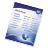 Self-Adhesive Laminating Pouches, 5mil, 11 1/2 X 9, 5/pack