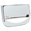 Toilet Seat Cover Dispenser, 16 X 3 X 11 1/2, Chrome