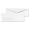 Window Envelope, #10, White, 1000/Box