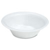 Quiet Classic Laminated Foam Dinnerware, Bowl, 12oz, White, 125/pack