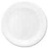 Mediumweight Foam Dinnerware, Plates, 6 Dia, White, 125/pack