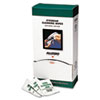 Eyewear Cleaning Wipes, 5 In X 8, White, 100/box