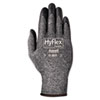 HyFlex Foam Gloves, Dark Gray/Black, Size 10, 12 Pairs