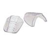 Flex Sideshields, Plastic, Clear, 60 Pairs/box