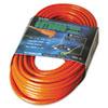 Vinyl Extension Cord, 100ft, Awg 16/3, Sjtw-a, Orange