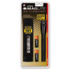 Mini Led Flashlight, 2aa (included), Black