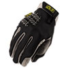 GLOVES,UTILITY LARGE BK