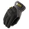 FastFit Work Gloves, Black/Gray, Large