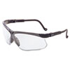 Genesis Safety Eyewear, Black Frame, Clear Lens