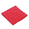 Hygen Microfiber Cleaning Cloths, 16 X 16, Red, 12/carton