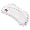 Hygen Flexi Frame Damp Mop Covers, Microfiber, White, 8.9 X 5.9, 12/carton
