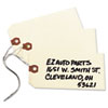 Double Wired Shipping Tags, 13pt. Stock, 5 1/4 X 2 5/8, Manila, 1,000/box