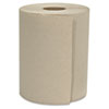 Hardwound Roll Towels, 1-Ply, Natural, 8 X 800 Ft, 6 Rolls/carton