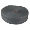 Industrial-Quality Steel Wool Reel, #1 Medium, 5-Lb Reel, 6/carton
